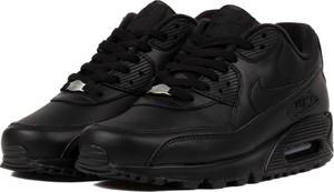 Czarne buty sportowe Nike air max 90 sznurowane