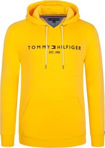 Żółta bluza Tommy Hilfiger z bawełny