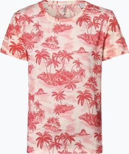 T-shirt Scotch & Soda z krótkim rękawem w młodzieżowym stylu z dżerseju