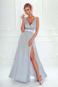 551e7a20a1 długa biała sukienka wieczorowa - stylowo i modnie z Allani