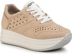 Sneakersy Igi & Co sznurowane