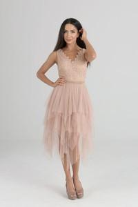 Sukienka Butik Ecru midi