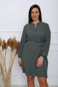 Sukienka ZOiO.pl mini w stylu casual szmizjerka