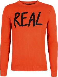 Sweter ubierzsie.com w młodzieżowym stylu z tkaniny