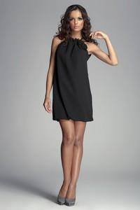 Brązowa sukienka Figl mini bez rękawów