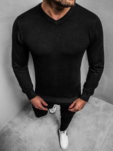 Sweter BRUNO LEONI z wełny w stylu casual