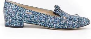 Baleriny Zapato ze skóry w stylu glamour