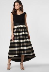 Czarna sukienka Marie Lund maxi bez rękawów z dekoltem w kształcie litery v