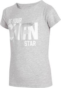 Koszulka dziecięca 4F z krótkim rękawem z tkaniny