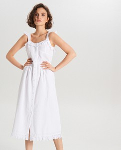 Sukienka Cropp w stylu casual midi