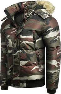 Kurtka Risardi w militarnym stylu