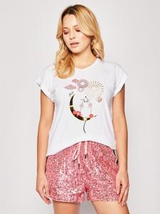 T-shirt Liu-Jo z krótkim rękawem z nadrukiem