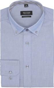 Koszula recman bez wzorów
