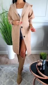 Różowy płaszcz Hypnotize Butik w stylu casual