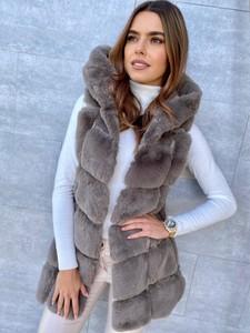 Kamizelka Ricca Fashion długa w stylu casual