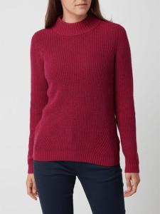 Czerwony sweter Montego z bawełny