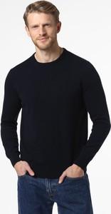 Granatowy sweter Andrew James z bawełny
