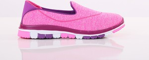 Różowe buty sportowe Modoline w sportowym stylu