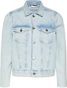 Niebieska kurtka Vero Moda w stylu casual