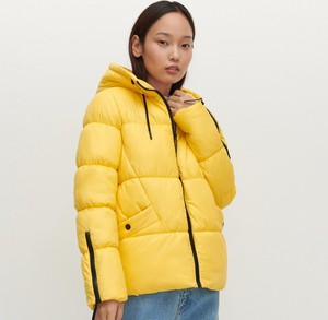 Żółta kurtka Reserved krótka