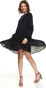Sukienka Top Secret z tkaniny w stylu casual koszulowa