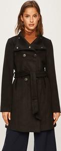 Czarny płaszcz Vero Moda z wełny