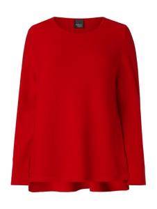 Czerwony sweter Persona by Marina Rinaldi z bawełny