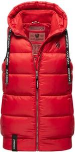Czerwona kamizelka Navahoo w stylu casual