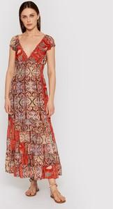 Sukienka Iconique z krótkim rękawem maxi