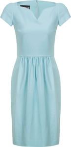 Sukienka Boutique Moschino z krótkim rękawem