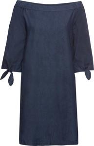Sukienka bonprix John Baner JEANSWEAR mini z długim rękawem hiszpanka