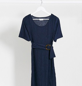 Granatowa sukienka Mama Licious