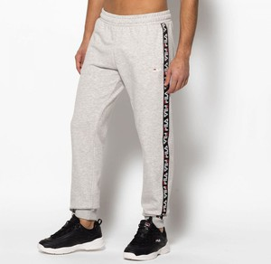 Spodnie sportowe Fila z bawełny