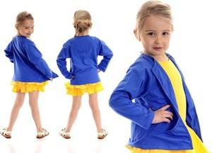Niebieski sweter Rennwear
