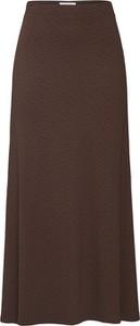 Brązowa spódnica EDITED z tkaniny