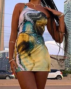 Sukienka Kendallme mini z długim rękawem asymetryczna