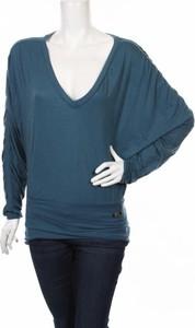 Niebieska bluzka Miss Sixty z długim rękawem