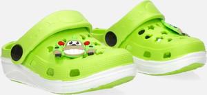 Zielone buty dziecięce letnie Casu