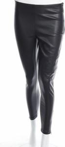 Czarne spodnie Soya Concept w rockowym stylu