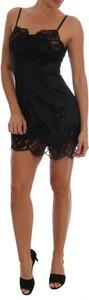 Sukienka Dolce & Gabbana z bawełny na ramiączkach