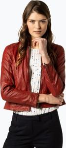 Czerwona kurtka Jilani krótka w stylu casual