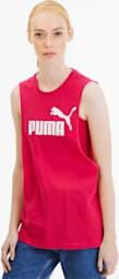 Czerwona bluzka Puma z bawełny