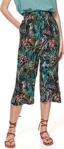Spodnie Top Secret w stylu boho z tkaniny