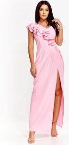 Sukienka Keyla maxi z dekoltem w kształcie litery v