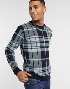 Niebieski sweter topman