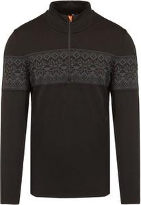 Czarna bluza Newland z żakardu w młodzieżowym stylu