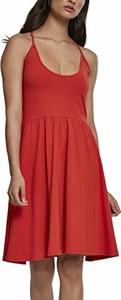 Sukienka amazon.de w stylu casual z okrągłym dekoltem rozkloszowana