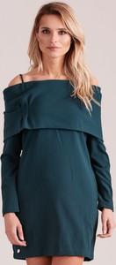 Zielona sukienka Sheandher.pl z bawełny hiszpanka