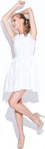 Sukienka Figl z długim rękawem mini z okrągłym dekoltem