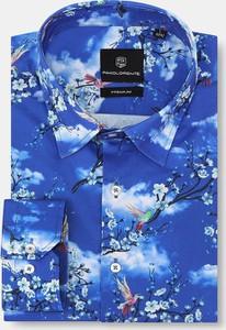 Koszula Pako Lorente z tkaniny